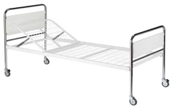 Chrome plated steel bed ends - Hospital Bed - KAS Medics Ltd