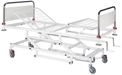 Four sections bed with variable height - 1 - Hospital Bed - KAS Medics Ltd